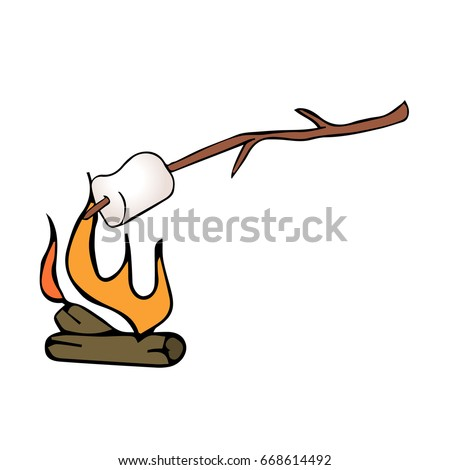 Roasting Marshmallows Stock Images, Royalty-Free Images & Vectors