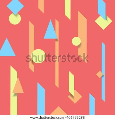 Material Design Background 2 D Motion Graphics Stock-Vektorgrafik ...