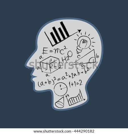 mathematics logo vector