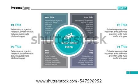 Stock Vector Matrix Diagram Slide Template