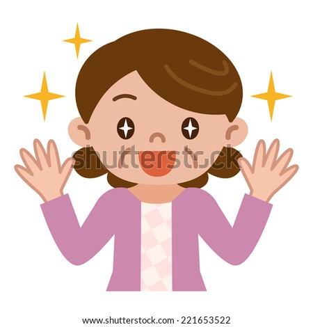 Mature women rejoice - stock vector