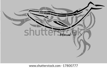 Maui tribal - stock vector