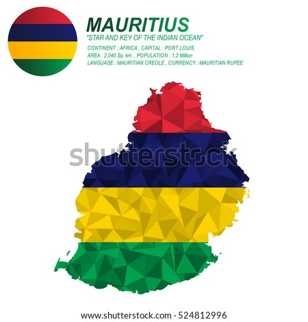 Mauritius Map Stock Images RoyaltyFree Images Vectors - Mauritius map africa