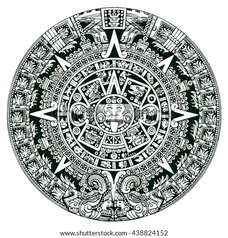 aztec calendar stock images royaltyfree images amp vectors