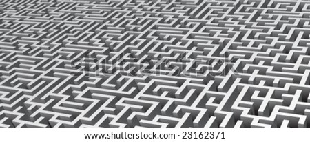 Maze background.