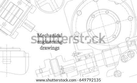 Mechanical engineering drawings vector engineering blueprints stock mechanical engineering drawings vector engineering blueprints background corporate identity cover banner malvernweather Image collections