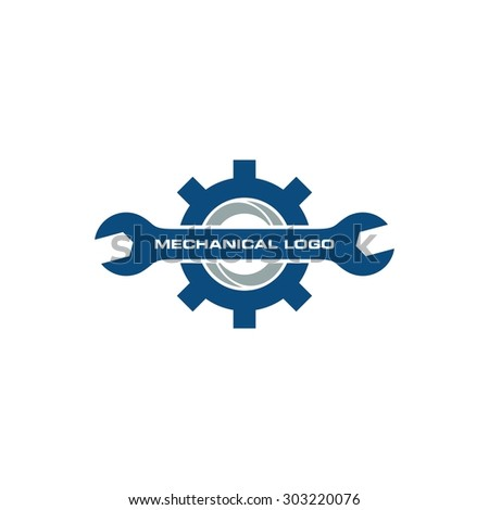 Mechanical Logo Tamplate