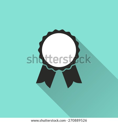 Medal icon icon, vector illustration, flat design. - stock vector