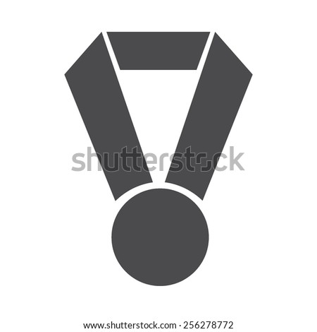 Medal vector image to be used in web applications, mobile applications and print media.