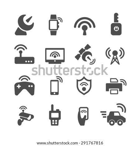Media related icons,Vector