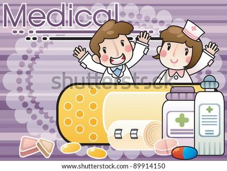 Medical - stock vector