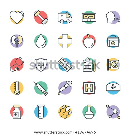 Medical and Health Cool Vector Icons 7