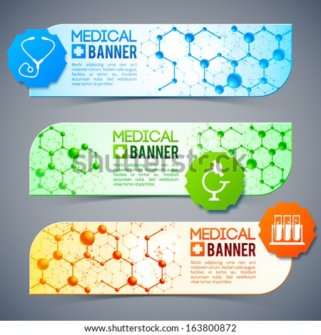 Medical background. Design concept.  Vector Illustration, eps 10, contains transparencies. - stock vector