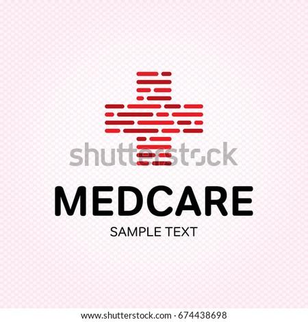 Medical Care Logo Design Template Vector Stock Vector Hd Royalty