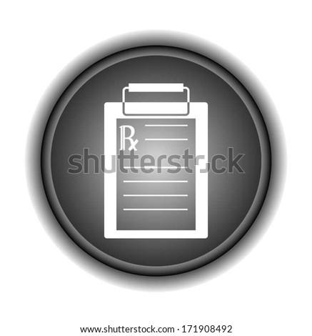 Medical Checklist  - stock vector