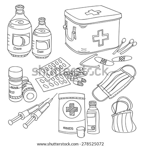 Medical Collection - stock vector