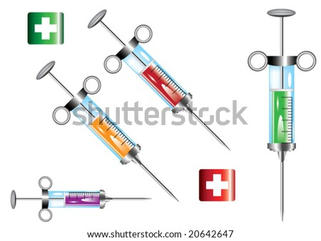 Medical Elements - stock vector
