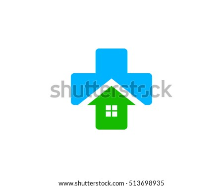 Awesome Medical House Logo Design Template Element Stock Vector 513698935    Shutterstock