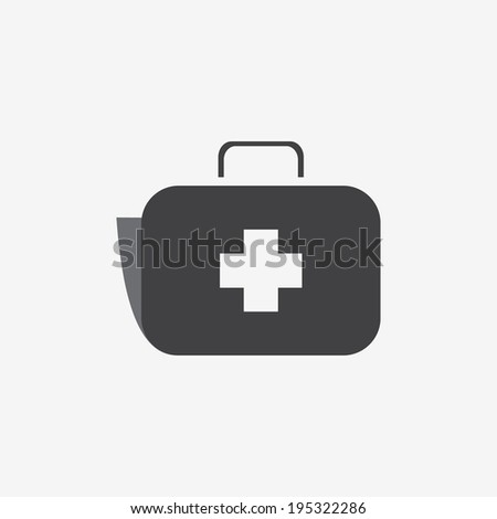 Medical icon case - stock vector