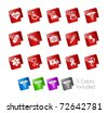 Medical Icons // Stickers Series -------It includes 5 color versions for each icon in different layers --------- - stock