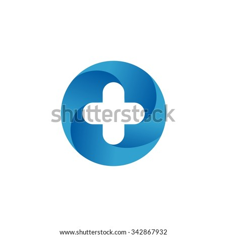 Medical Logo Vector Template - stock vector