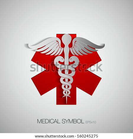 Medical Symbol Emblem Drugstore Medicine Medical Stock Vector
