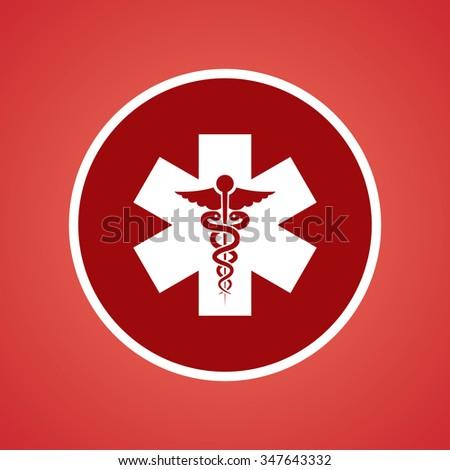 Medical Symbol Icon - stock vector