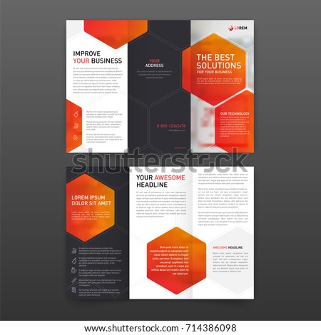 Medical tri fold brochure template layout stock vector 714386098 medical tri fold brochure template layout with icons set corporate tri fold leaflet modern design saigontimesfo