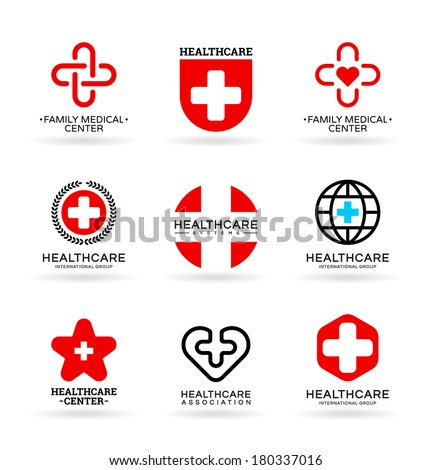 Medicine and Healthcare (5) - stock vector