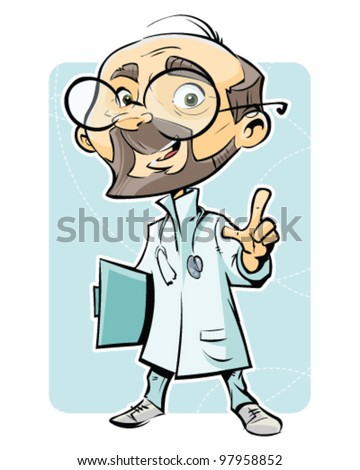 Medicine doctor - stock vector
