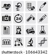 Medicine & Heath Care icons - stock photo