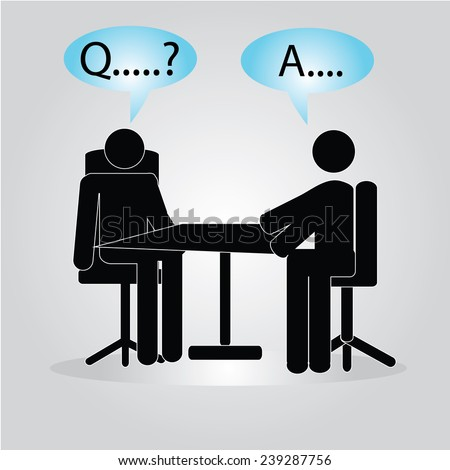 meeting/interview,interview icon vector