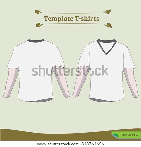 men's t-shirt design templates