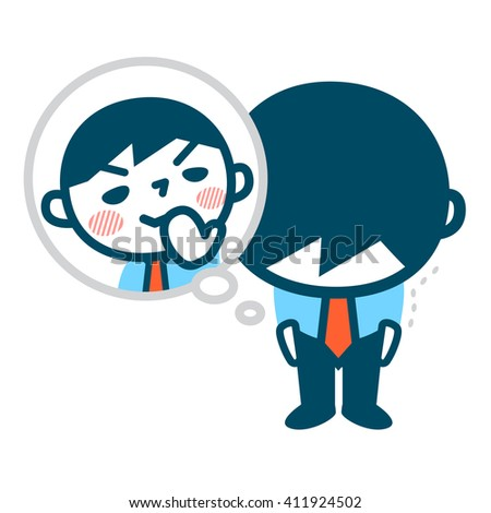 Men who ridicule - stock vector