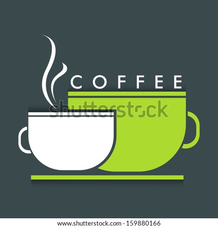 Menu Card design for Coffee House.  - stock vector