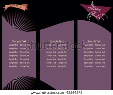 Hotel Menu Card Stock Images RoyaltyFree Images  Vectors