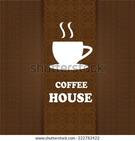 Menu for restaurant, cafe, bar, coffeehouse - stock vector