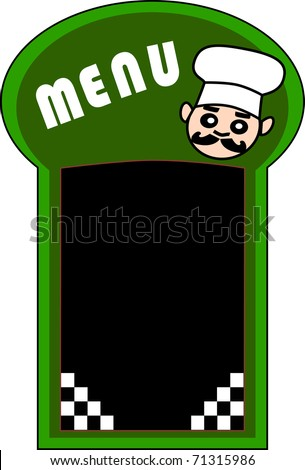 menu ok - stock vector
