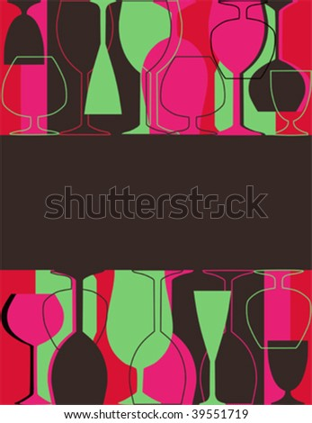 Menu or restaurant card vector