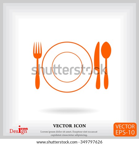 menu vector icon - stock vector