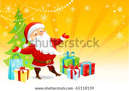 Merry Chistmas - stock vector