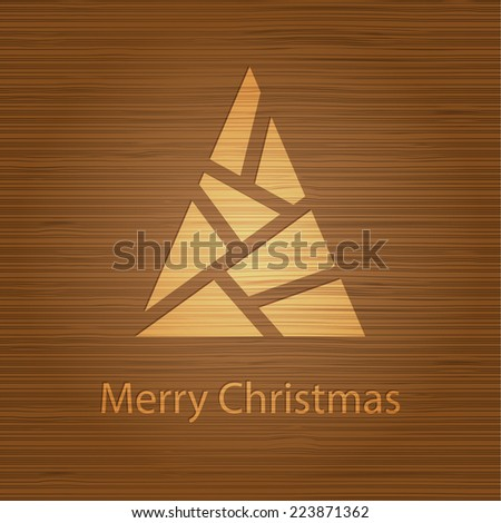 Merry Christmas - stock vector
