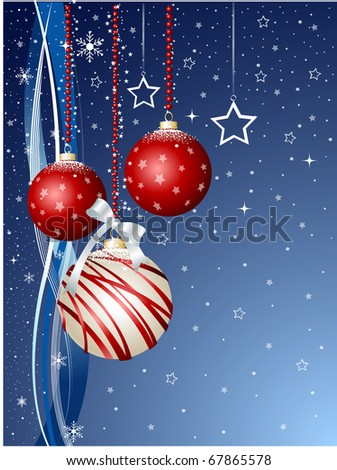 Merry Christmas, 2011 - stock vector