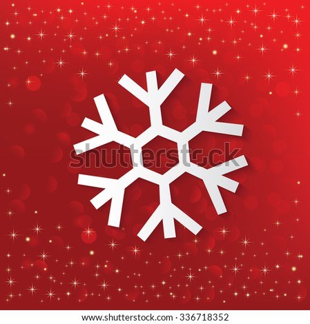 Merry Christmas and Happy New Year Design,vector - stock vector