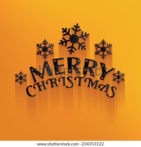 Merry Christmas Design,Happy New Year,Clean vector - stock vector