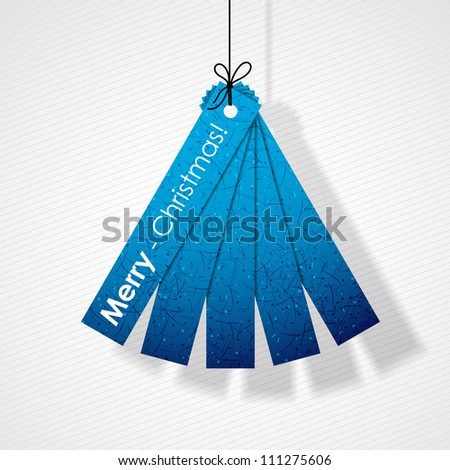 merry christmas, eps10 - stock vector