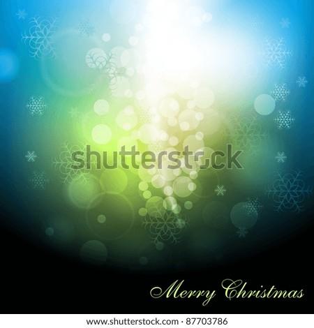 Merry Christmas! Eps 10 vector design - stock vector