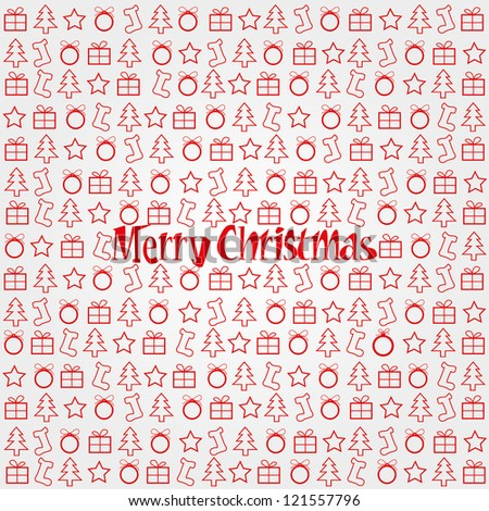 Merry Christmas Festive Background.Christmas pattern