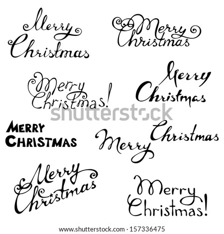 https://thumb9.shutterstock.com/display_pic_with_logo/1772387/157336475/stock-vector-merry-christmas-hand-written-text-vector-illustration-for-your-design-christmas-template-157336475.jpg