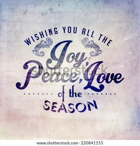 Merry christmas season greetings quote vector stock photo photo merry christmas season greetings quote vector design m4hsunfo